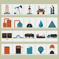 Oil and gas set