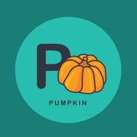 P for pumpkin.