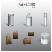 Packaging templates collection
