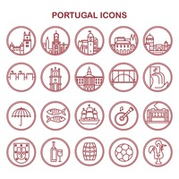 Portugal icons