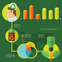 Recycle idea infographic