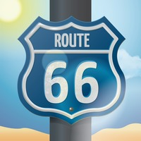 Route sign 66