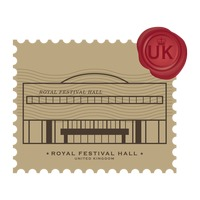 Royal festival hall postage stamp