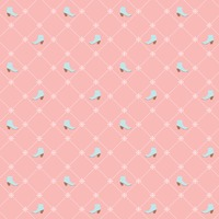 Seamless shoe pattern over pink background