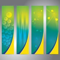 Set of banner with abstract background design