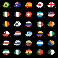 Set of different country flag