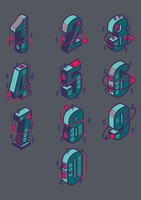 Set of isometric numbers