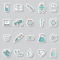 Set of medical and science icons