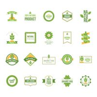 Set of natural product labels