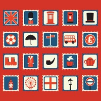 Set of united kingdom general icons