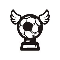 Soccer trophy icon