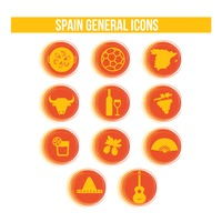 Spain general icons