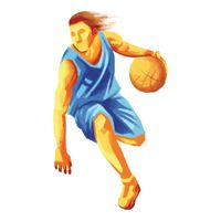 Sports competition basketball
