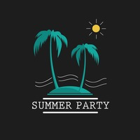 Summer party wallpaper