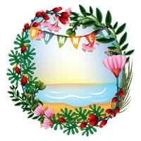 Summer theme floral design