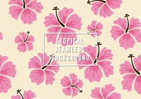 Popular : Tropical seamless background