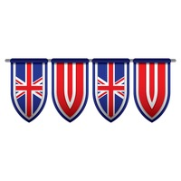 United kingdom flag bunting