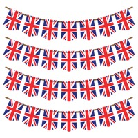 United kingdom flag buntings