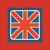 United kingdom flag postage stamp