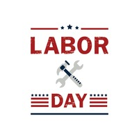 Us labor day label