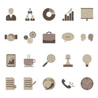 Various icon designs