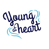 Young at heart quote design