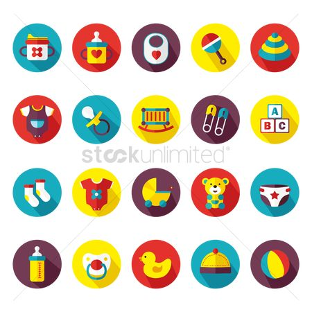 Cute : Baby icons