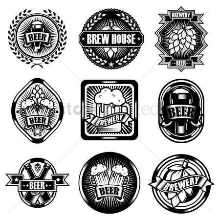 Retro : Collection of beer designs