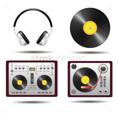 Music : Collection of music icons