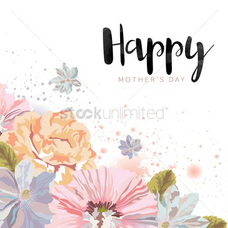 Celebration : Happy mothers day card