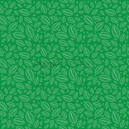 Vectors : Leaves background