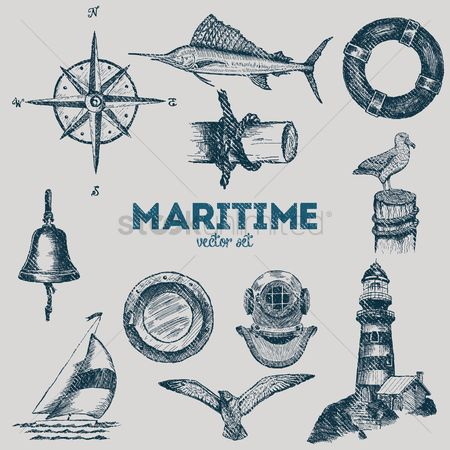 Birds : Maritime collection