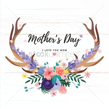Heart : Mothers day card
