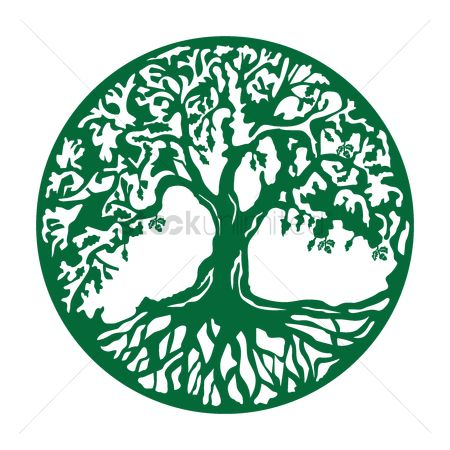 Concepts : Oak tree icon