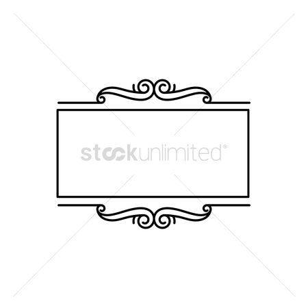 Vectors : Ornamental frame