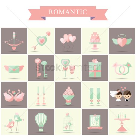 Romantic : Romantic icons