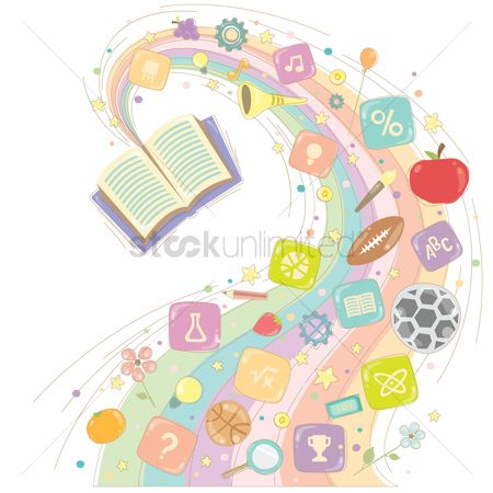 Music : Various education items coming out from a book