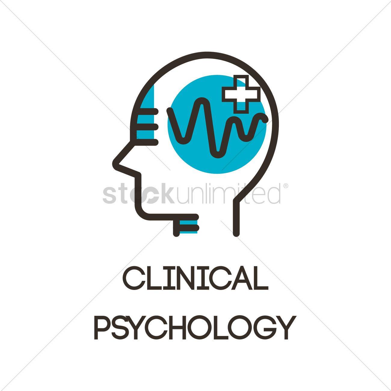 Clinical psychology icon Vector Image - 2023226 ...