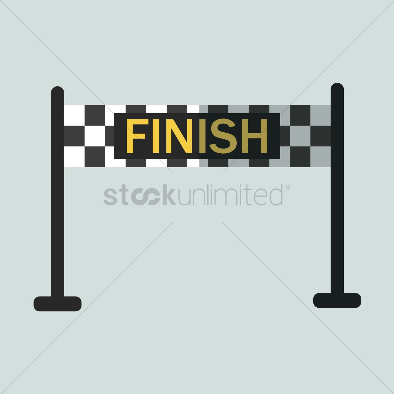 finish line banner vector image  1431630  stockunlimited
