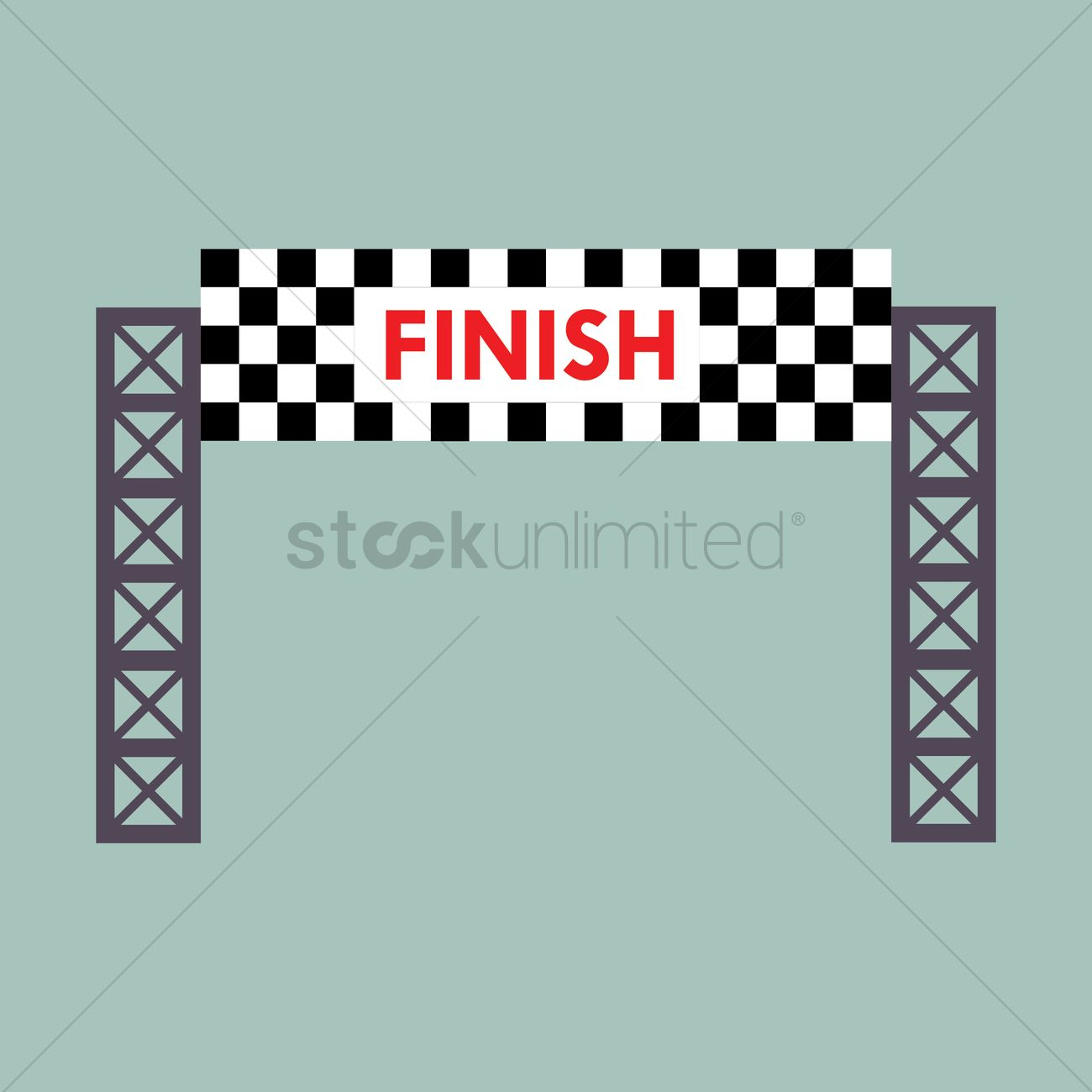 finish line banner vector image  1445594  stockunlimited