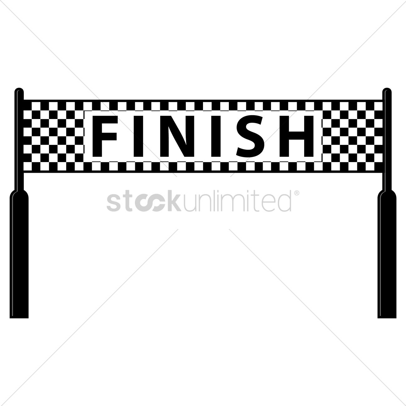 Finish Line 1479002 on race car flag printable