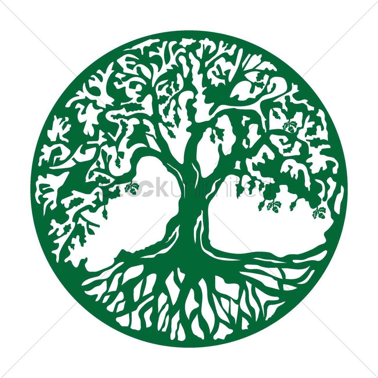 oak tree icon vector image 1515594 stockunlimited antarctic clipart clipart antarctica