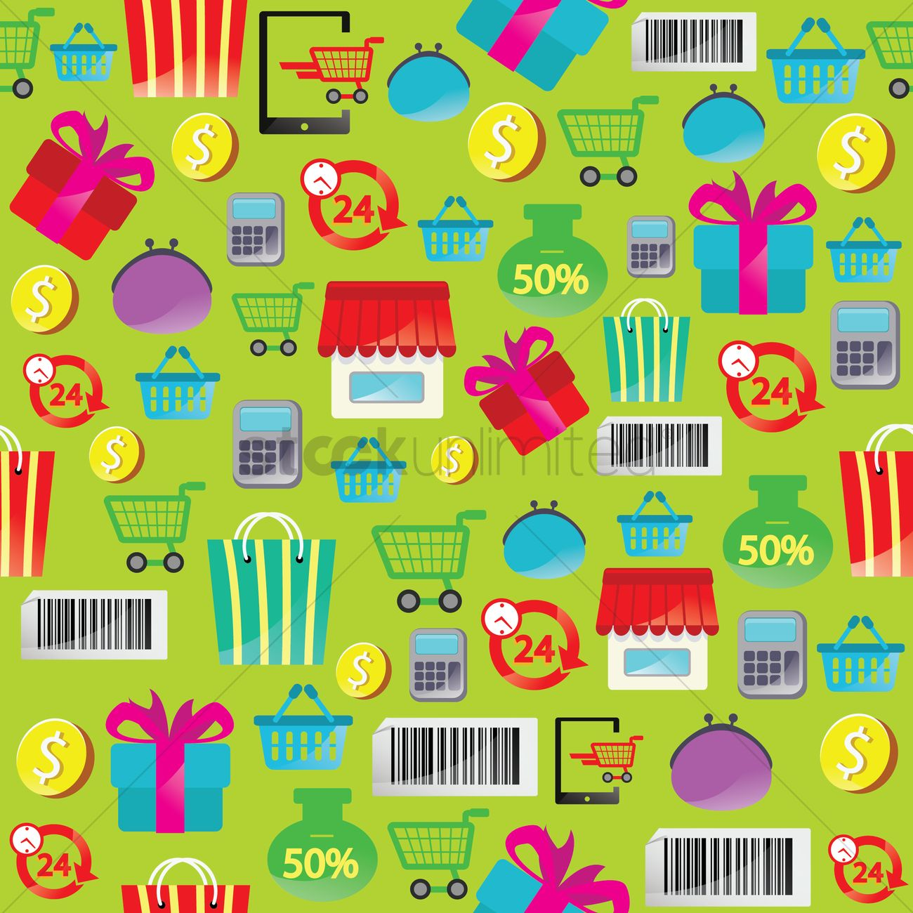 Background study of online shopping