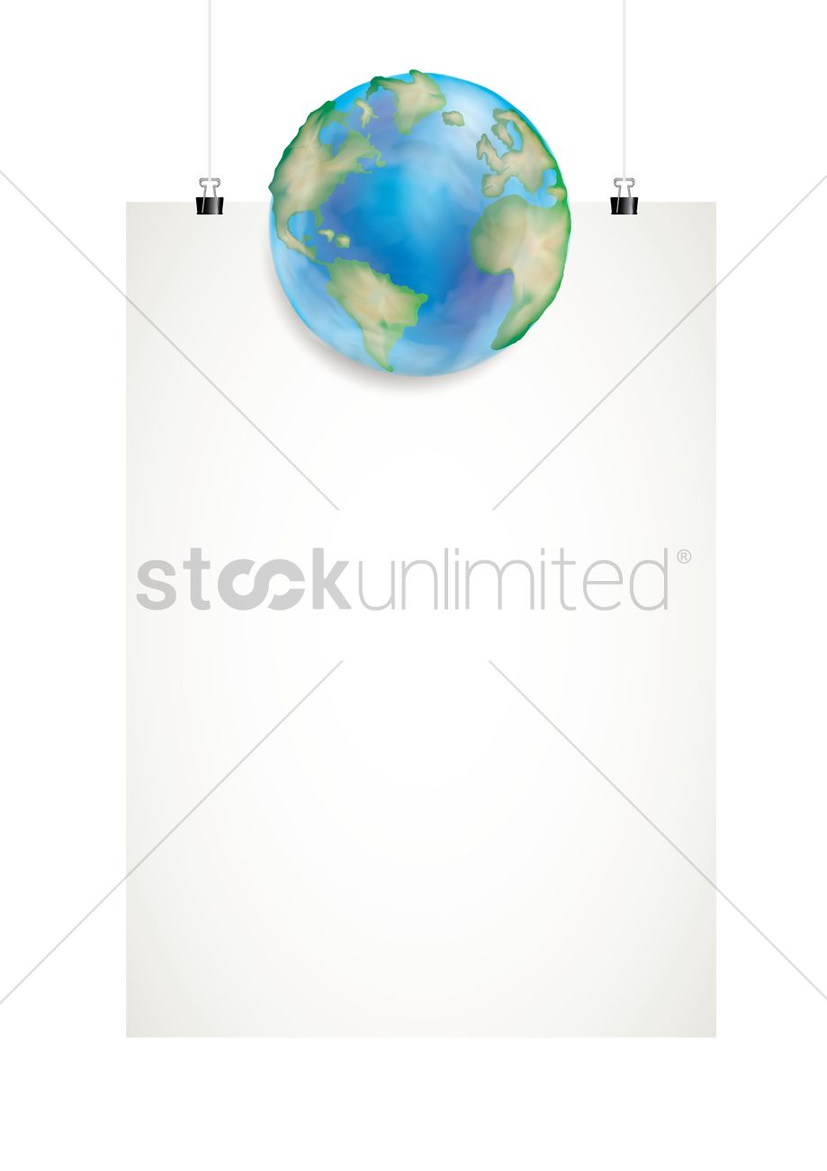 Poster design on save earth - Save Planet Earth Poster Design Vector Graphic