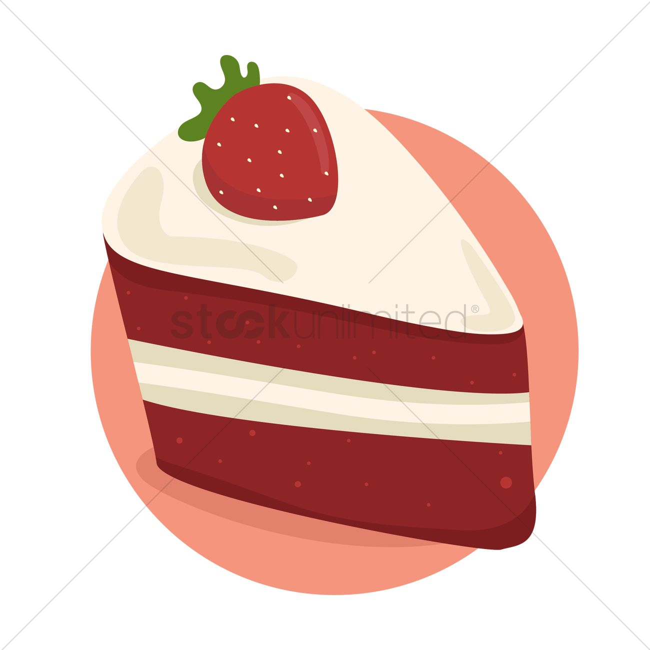 Strawberry Cake Graphic
