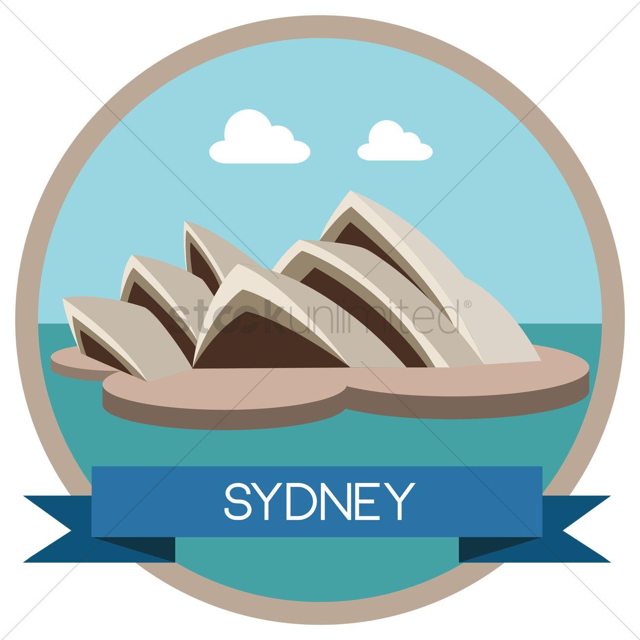 Free Sydney Opera House Vector Image 1313270