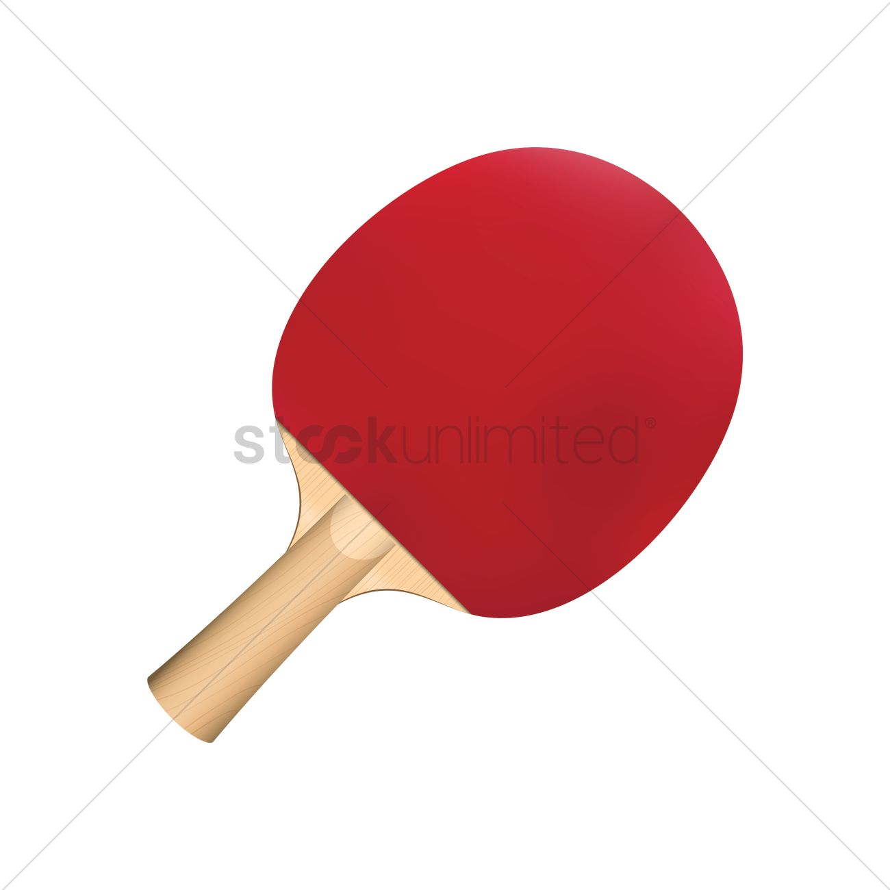 Table Tennis Racket Png - Table tennis bat vector graphic