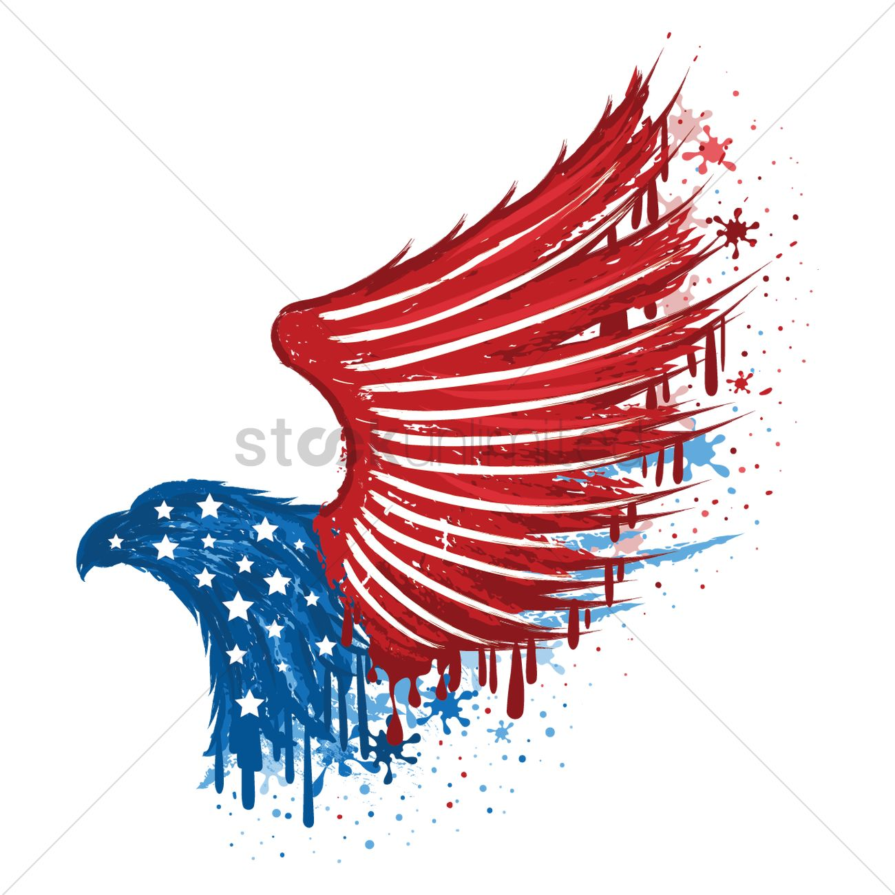 Usa eagle symbol Vector Image - 1540758 | StockUnlimited