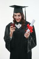 Graduate text messaging on the mobile phone