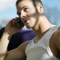 Man talking on the phone